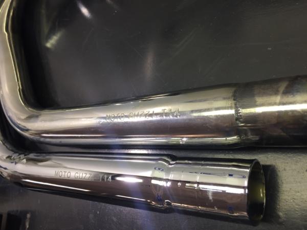 Nuovo modello Guzzi t5 850 collettori